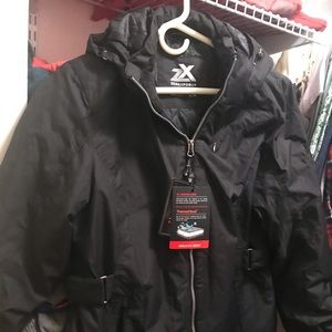 Women's large NWT black winter coat